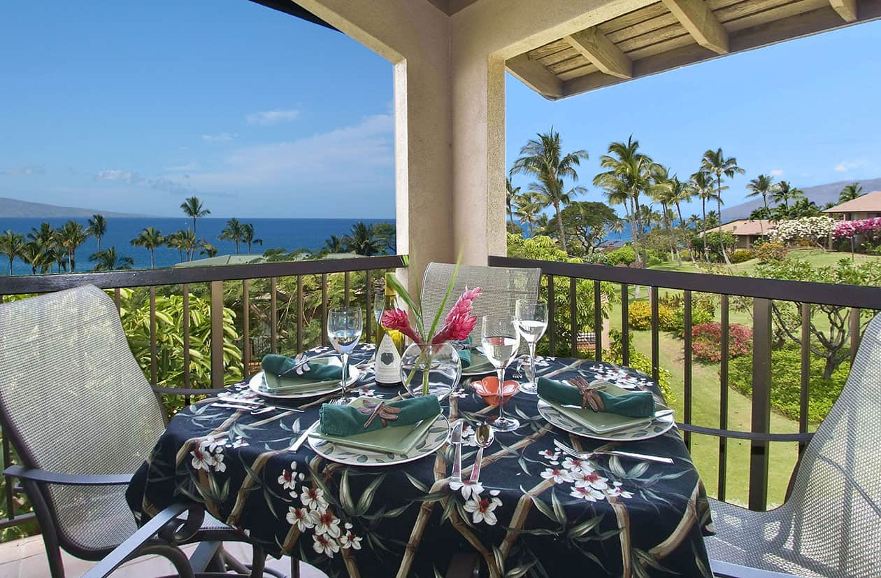11E Dining Lanai With Ocean View