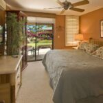Master bedroom w ocean views