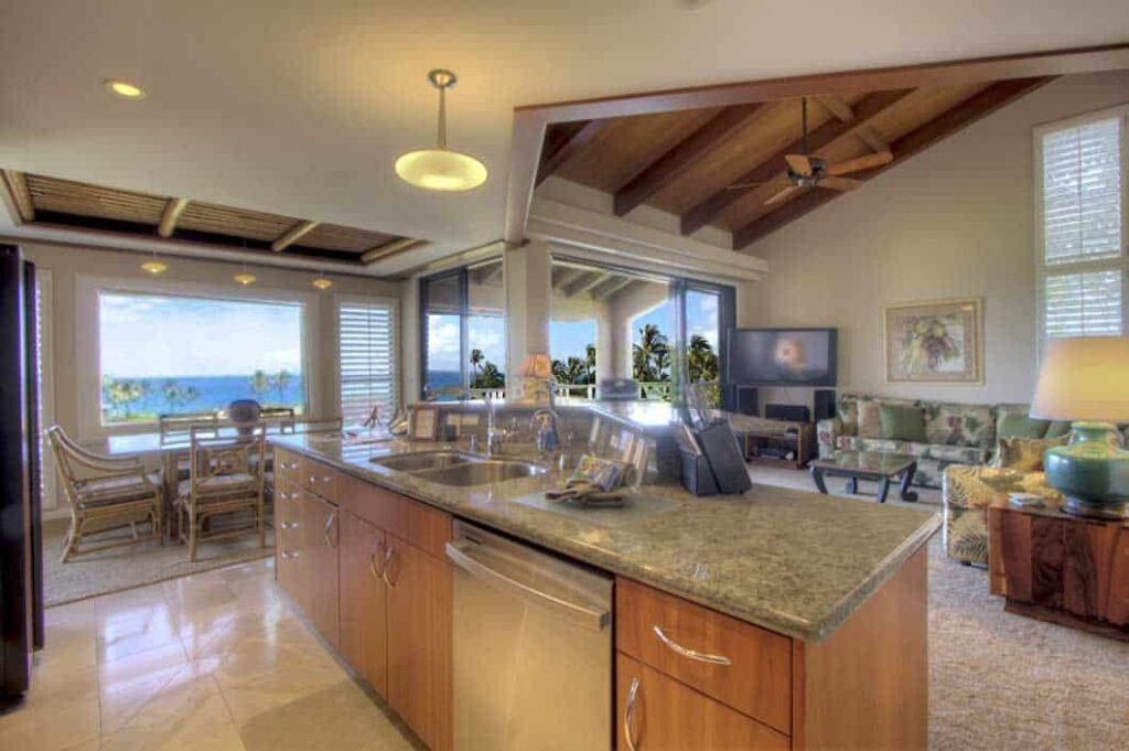 Amazing views from this Ekahi Village Rental
