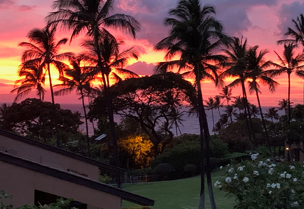 Maui sunset from Ekahi 11e